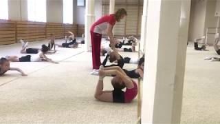Открытый урок | Художественная гимнастика| ДЮСШ НП1 22.05.2018