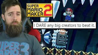 He DARED Me to Beat His IMPOSSIBLE HOTGARBAGE [SUPER MARIO MAKER 2]