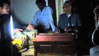 Raag Bhairavi on Harmonium by Pt. Rambhau Bijapure
