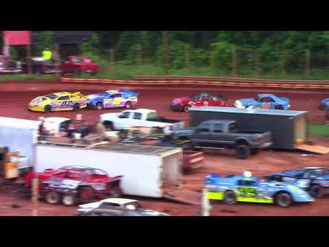 Winder Barrow Speedway Stock Four Cylinders A's 6/2/18