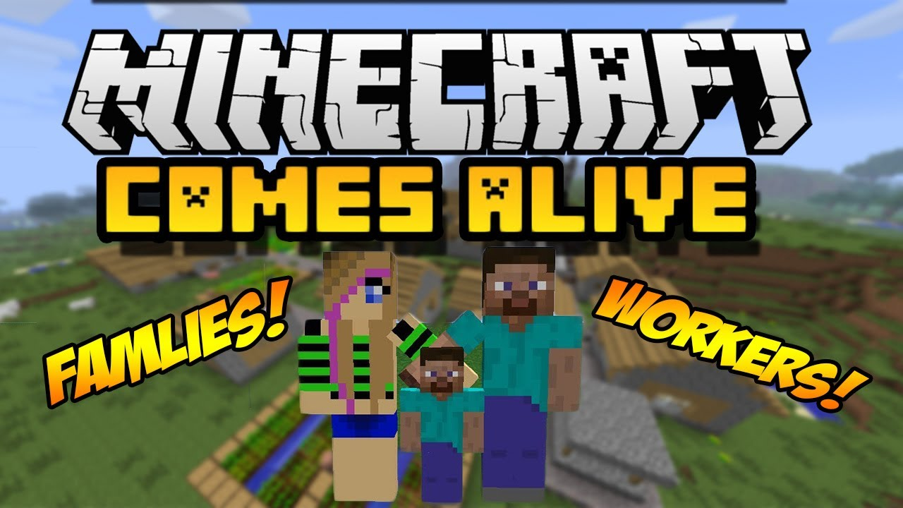Free comes alive mod for mcpe apk download for android | getjar.