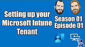 Intune Training Series - YouTube