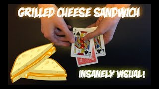 Half Baked Idea: Grilled Cheese Sandwich Card Trick Performance And Tutorial!