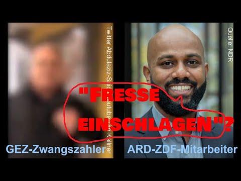 """ARD-ZDF-Mitarbeiter drohte. """"Fresse einschlagen""""? Provokation unsouverän schiefgelaufen? Fragen!"""
