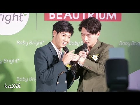 180326 Singto&Krist - Baby Bright Beautrium @ Center Point of Siam Square