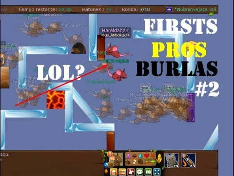 Transformice - Firsts Pros / Burlas #2