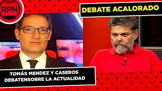 ¡¡TENSO debate entre Tomás Mendez y Alfredo Casero!! YouTube Videos