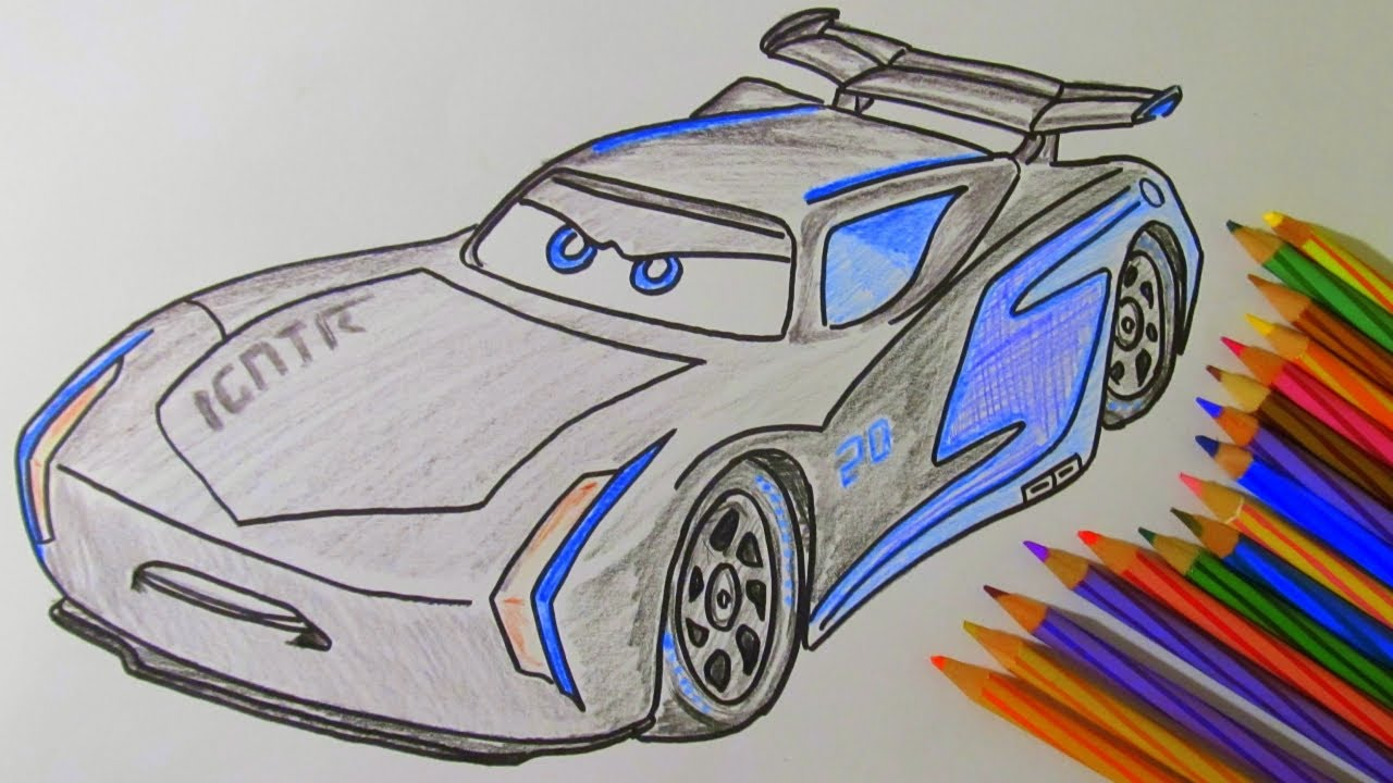 Coloring Pages Jackson Storm : Disegno di jackson storm cars da colorare coloring