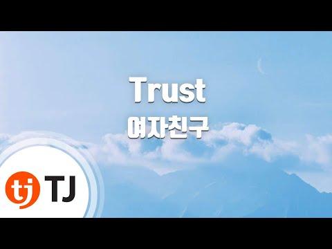 [TJ노래방 / 반키올림] Trust - 여자친구 / TJ Karaoke