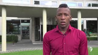 """Pervis Estupiñán """"Estoy muy ilusionado por comenzar en #Osasuna y hacerlo de la mejor manera""""."""