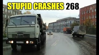 Stupid driving mistakes 268 (October 2018 English subtitles)