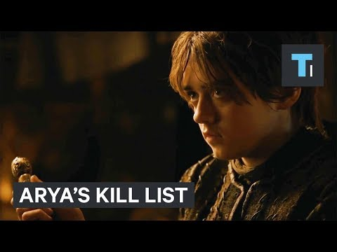 Everyone left on Arya Stark's kill list on 'Game of Thrones'