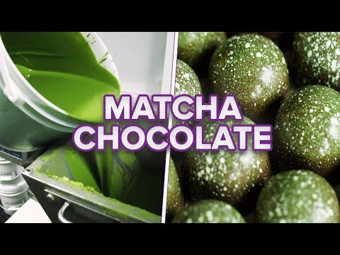 Matcha Chocolate – Watch the exciting artisan process of making it