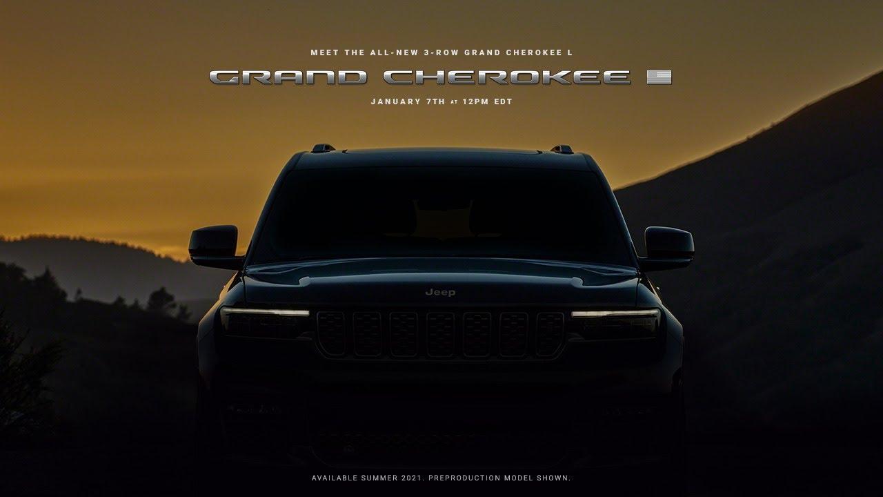 Nouveau Jeep Grand Cherokee L 2021 pour le Québec