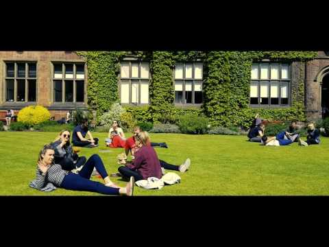A Sunny Day On Newcastle University's Campus