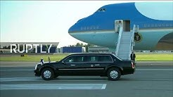 LIVE: US President Trump arrives in Helsinki for Summit with Putin