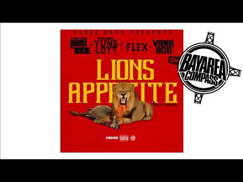 Luni Bee x Yung Lott ft. Vana Boo & Flex - Lion's Appetite [BayAreaCompass] @LuniBee100