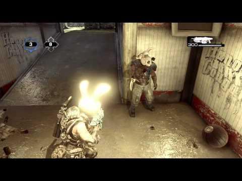 Gears Of War 3 Bunny Rabit Dance