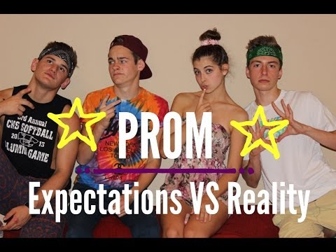 Expectations vs Reality || Prom  (ft. Taylor Baxter , Payte Parker, and Pierson Oglesby)