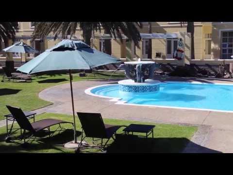 Suite at Swakopmund Hotel in Namibia