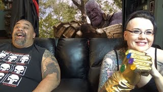 Avengers Infinity War 2nd Trailer Reaction thumbnail
