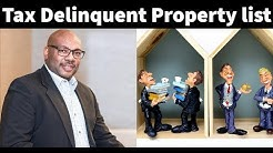 The Cost of a Tax Delinquent Properties List