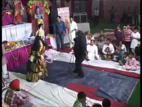 KALI MAA KA TANDAV (Jhanki) Raju Uttam Jagran Party Ludhiana Punjab