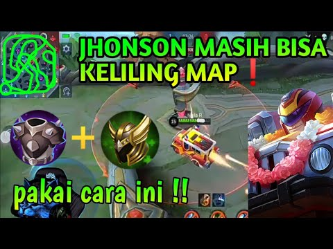 EXPERIMENT❗JHONSON KELILING MAP 100×    Mobile Legends