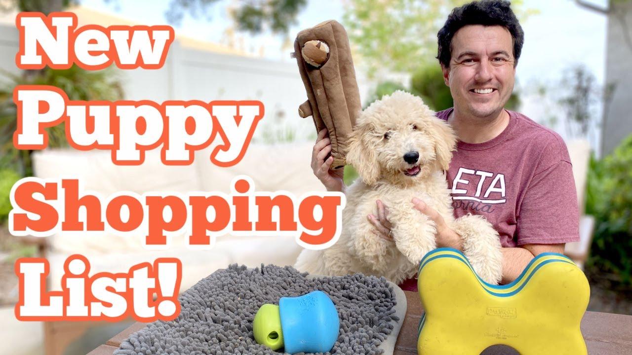 New Puppy Shopping List!