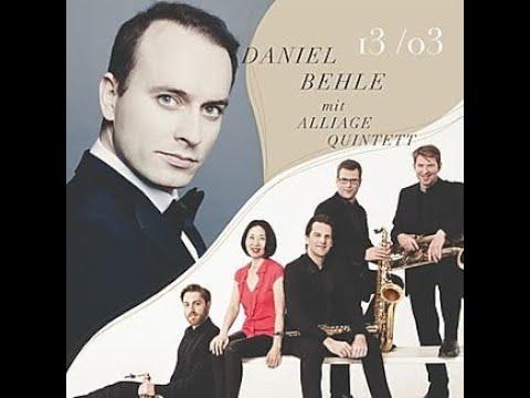 Ein Video von:Behlcanto: Daniel Behle - Alliage Saxophon Quintett