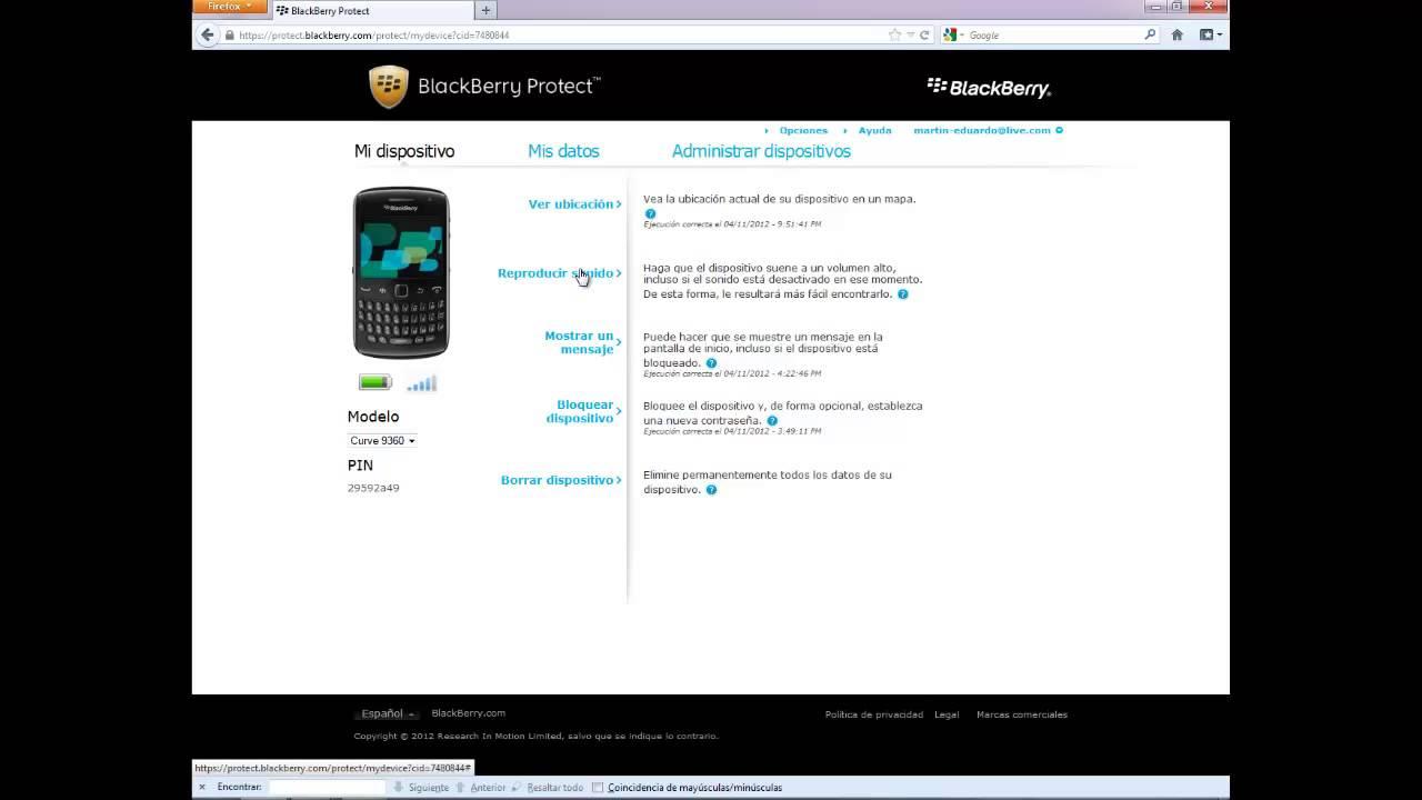 Localizador de celulares para blackberry - Como localizar un celular samsung con el gps