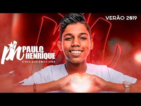 PH PAULO HENRIQUE 2019 - NOVO  PROMOCIONAL VERÃO 2019 - MÚSICAS NOVAS - REPERTÓRIO INÉDITO