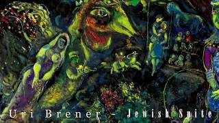 Uri Brener - Jewish Suite (2017) for clarinet, violin and piano live in Trencin