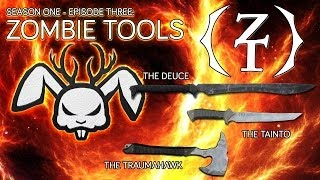 Zombie Tools: The Deuce, The Tainto and The Traumahawk - Angry Jackalope Gear Review ~ [AJ S01 E03]