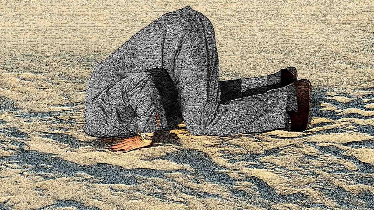 bury head in sand