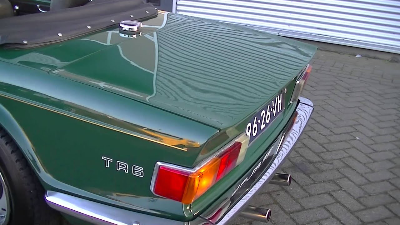 Triumph Tr6 3 Double Weber Carbs For More Power Video Www