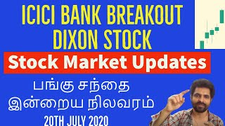 NIFTY MOMENTUM |Stock Market Updates in Tamil | ICICI BANK STOCK| Tamil Share | Intraday BANK NIFTY