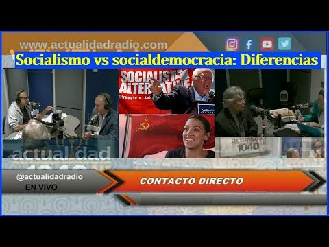 Socialismo vs socialdemocracia: Diferencias