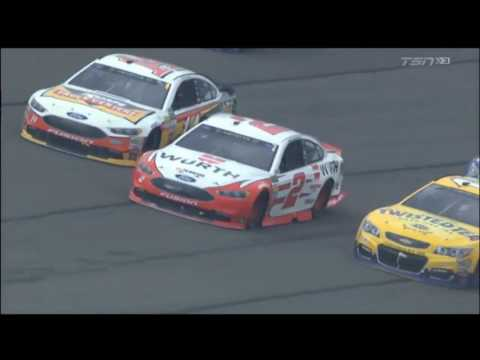 NASCAR (Xfinity Series/Monster Energy) 2017. Auto Club Speedway. All Crashes and Fails