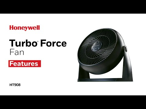 Honeywell Turbo Force Table or Floor Fan HT908 - Product Features
