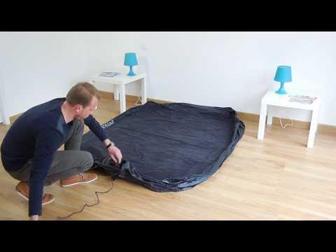 Materasso Gonfiabile A Corrente.Materasso Gonfiabile Elettrico 2 Piazze Intex Rest Bed Fiber