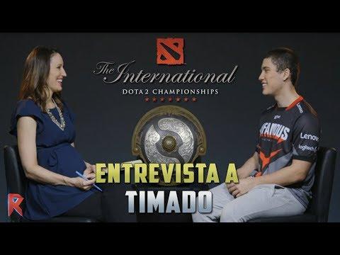 The Worldwide 2017: Entrevista en ESPAÑOL a Timado de Notorious    Dota 2