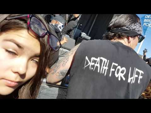 Death by stereo live in Las Vegas at the extreme thing