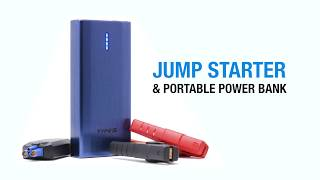 Type S 10,000 mAh Jump Starter & Portable Power Bank - How To Guide