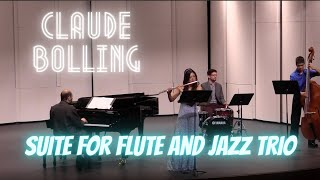 Irlandaise - Claude Bolling Suite for Flute and Jazz Trio | Jennifer Jo, Flute