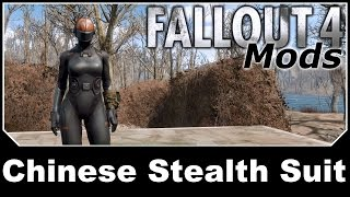 Fallout 4 Mods - Chinese Stealth Suit