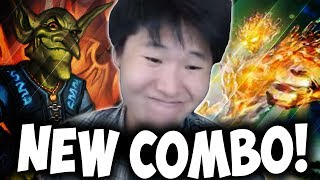NEW Miracle Priest Combo! | Lyra the Sunshard | THE WITCHWOOD | HEARTHSTONE | DISGUISED TOAST