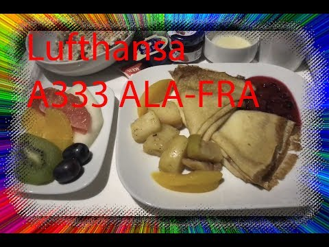 (Flight Report) Lufthansa Airbus A330-300 Almaty to Frankfurt (With a Stop in Astana)