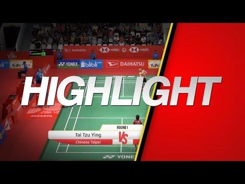 Tai Tzu Ying (Chinese Taipei) VS Michelle Li (Canada)