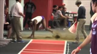 2015 RMAC Women's Indoor T&F Long Jump